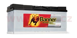 100Ah battery 800A, right BANNER Power Bull Professional 354x175x190
