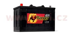 110Ah battery 720A, left BANNER Buffalo Bull 344x172x214(230)