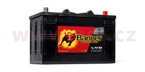 110Ah battery 720A, right BANNER Buffalo Bull 344x172x214(230)