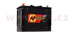 125Ah battery, 760A, left BANNER Buffalo Bull 345x172x260(283)