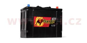 125Ah battery, 760A, right BANNER Buffalo Bull 345x172x260(283)