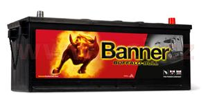 132Ah battery, 900A, right, BANNER Buffalo Bull 508x174x205