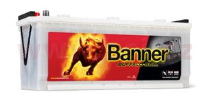 140Ah battery, 720A, left BANNER Buffalo Bull 514x189x195(220)