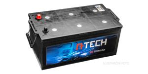 140Ah EFB battery, 1000A, left A-TECH 513x189x195/220