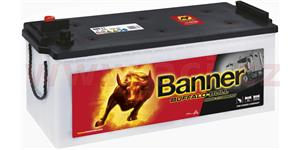 180Ah battery, 1400A, left BANNER Buffalo Bull 514x223x195(220)