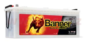 180Ah battery, 900A, left BANNER Buffalo Bull 514x223x195(220)