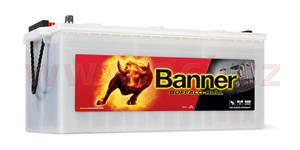 225Ah battery, 1050A, left BANNER Buffalo Bull 517x273x212(240)