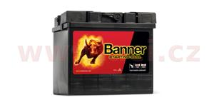 30Ah battery, 300A, left BANNER Starting Bull 187x128x165