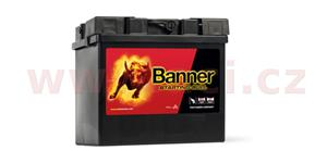 30Ah battery, 300A, right BANNER Starting Bull 187x128x165
