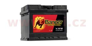 44Ah battery, 360A, right BANNER Starting Bull 210x175x175