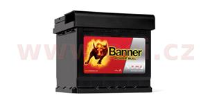 44Ah battery, 420A, right BANNER Power Bull 210x175x175