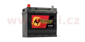 45Ah battery, 300A, left BANNER Starting Bull 218x135x203(225)