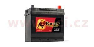 45Ah battery, 300A, right BANNER Starting Bull 218x135x203(225)