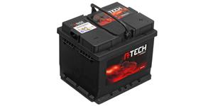 45Ah battery, 330A, right A-TECH 210x175x175