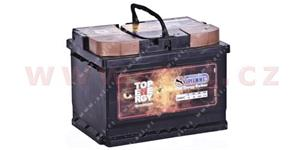 55Ah battery, 460A, right 242x175x175