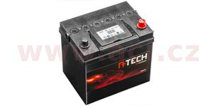 60Ah battery, 500A, right A-TECH 232x173x225
