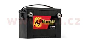 60Ah battery, 675A, left BANNER Starting Bull 248x178x184