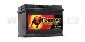 62Ah battery, 480A, right BANNER Starting Bull 241x175x190