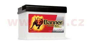 63Ah battery 600A, right BANNER Power Bull Professional 241x175x190