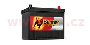 70Ah battery, 570A, right BANNER Power Bull 260x174x200(222)