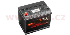 70Ah battery, 600A, left A-TECH 260x173x222