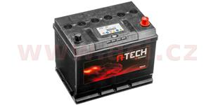 70Ah battery, 600A, right A-TECH 260x173x222