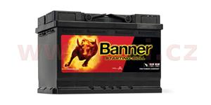 72Ah battery 640A, right BANNER Starting Bull 278x175x190