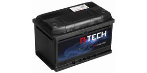 75Ah EFB battery START-STOP, 720A, right A-TECH 278x175x175
