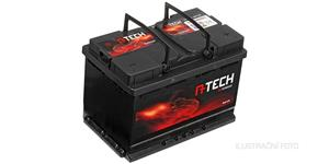 80Ah battery, 700A, right A-TECH 315x175x175