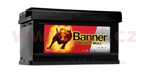 80Ah battery, 700A, right BANNER Power Bull 315x175x175