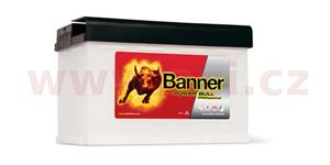 84Ah battery, 700A, right, BANNER Power Bull Professional 315x175x190