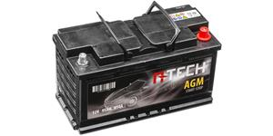 95Ah AGM battery START-STOP, 850A, right A-TECH 353x175x190