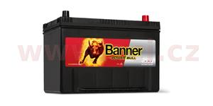 95Ah battery, 720A, right BANNER Power Bull 303x173x203(225)