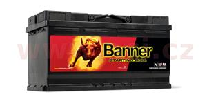 95Ah battery, 720A, right BANNER Starting Bull 354x175x190