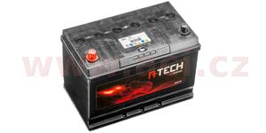95Ah battery, 750A, left A-TECH 260x173x222