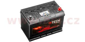 95Ah battery, 750A, right A-TECH 260x173x222