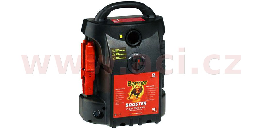 BANNER BOOSTER P 12/24 Start Truck EVOLUTION - auxiliary starting source for truck cars
