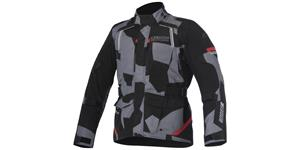 bunda ANDES DRYSTAR, ALPINESTARS (black/grey camo/red)