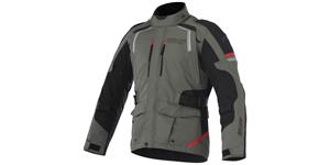 bunda ANDES DRYSTAR, ALPINESTARS (green/black/red)