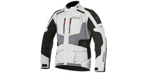 bunda ANDES DRYSTAR, ALPINESTARS (light grey/grey/black)