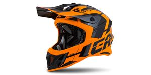 Crosshelm Cross Pro II Contra, CASSIDA (orange/schwarz/grau)