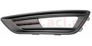 front grille in bumper for foglamp  L