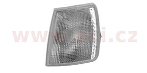 front indicator lamp white without socket L
