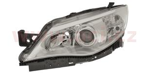 front lamp H7+HB3 (el. operated with motor) with clear indicator lamp  L