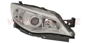 front lamp H7+HB3 (el. operated with motor) with clear indicator lamp  R