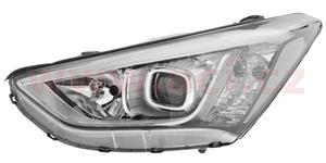 headlamp H7+H7+LED (electrically operated) L