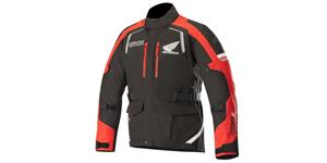 jacket ANDES DRYSTAR HONDA collection, ALPINESTARS (black/red)