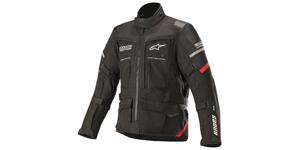 jacket ANDES PRO DRYSTAR, TECH-AIR compatible, ALPINESTARS (black/red)