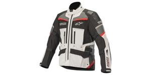 jacket ANDES PRO DRYSTAR, TECH-AIR compatible, ALPINESTARS (light gray/black/dark gray/red)