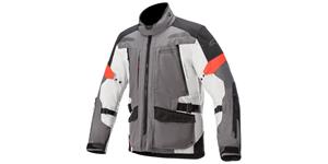 jacket VALPARAISO 3 DRYSTAR, ALPINESTARS (dark gray/light gray/red)